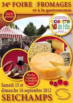 34e Foire aux Fromages à Seichamps Septembre 2012