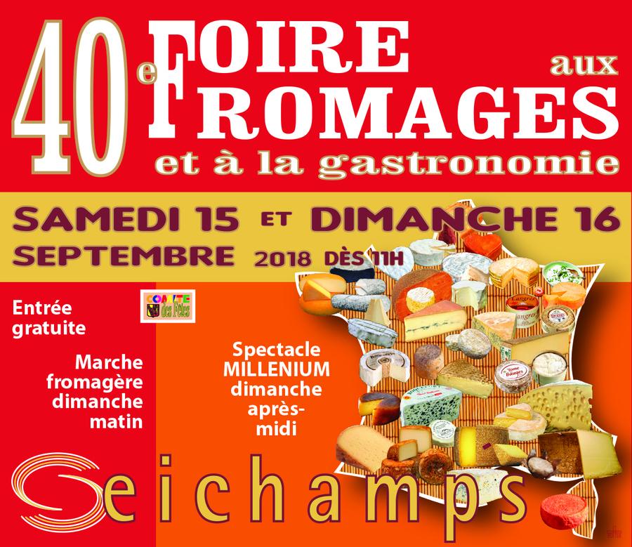 40e Foire aux Fromages à Seichamps (54) - Septembre 2018